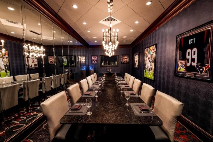 McCormick and Schmick's Seafood Restaurant Houston, TX at Pavilions  banquets and corporate events