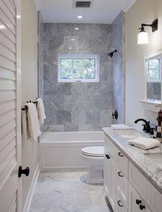 Long Narrow Bathroom Layout Fabulous Design Ideas With