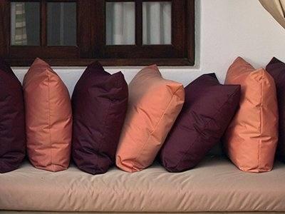 Striped Shianco Corp Replacement Cushions Patio Furniture