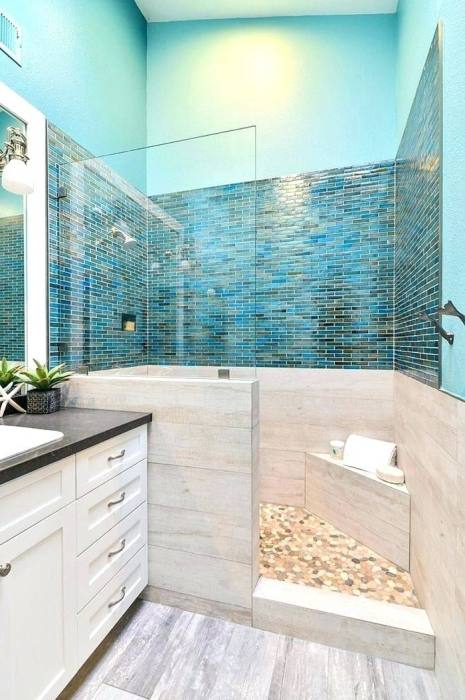 Small Bathroom Decorating Ideas Beach Diy Bath Home Design Houzz Pinterest  On A Budget