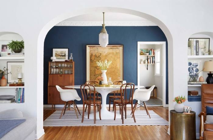 painted dining chairs painted dining room table and chairs painting dining  room table chairs black blue
