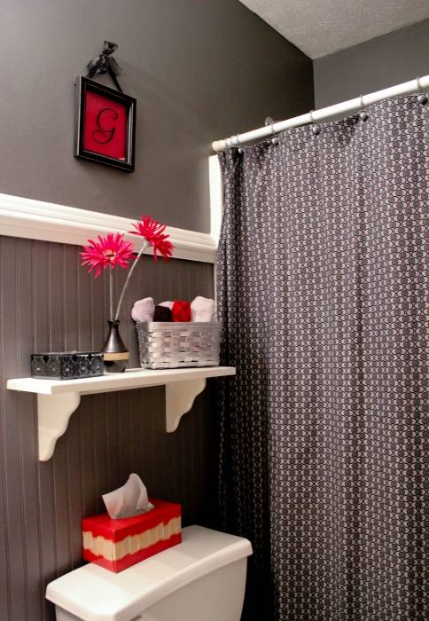 blue and black bathroom ideas
