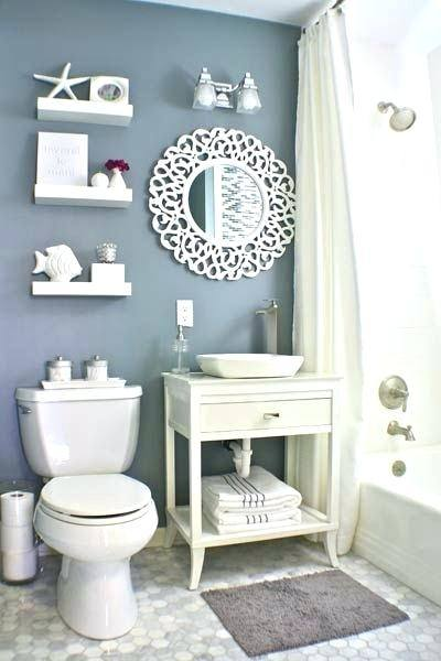Coastal Bathroom Ideas Coastal Bathroom Ideas Design Ideas For A Nautical  Bathroom In With Raised Panel Cabinets White Beach Style Bathroom  Decorating Ideas