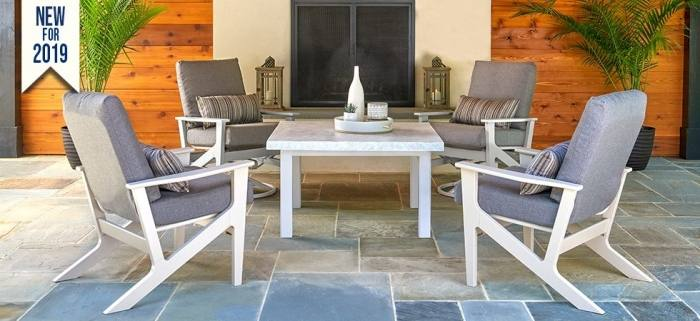 designs and creates unique gas fire  pit tables for