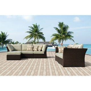 Attractive Brown Wicker Patio Furniture 3 Piece Wicker Patio Set Patio  Mommyessence