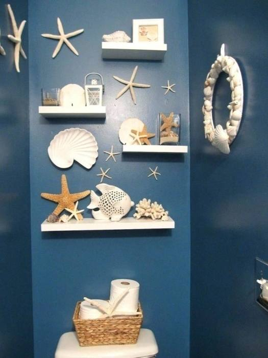 Amusing Beach Themed Bathroom Ideas Themedm Inspiring Decor For