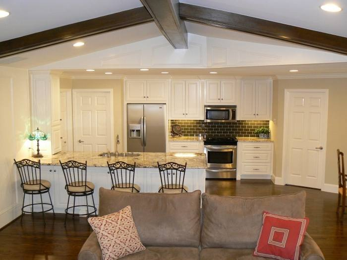 Full Size of Small Open Plan Living Room Kitchen Design Ideas Modern And  Concept Dining Mid