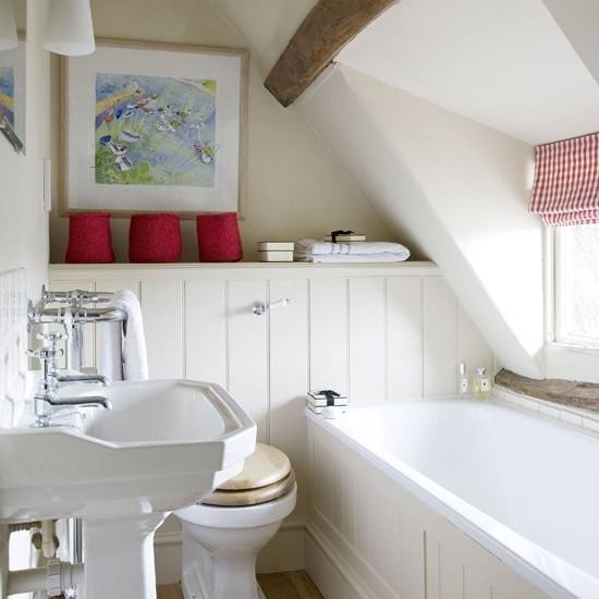 Click the image to enlarge the images and Find your ideas by looking at the  images below about Loft bathroom ideas