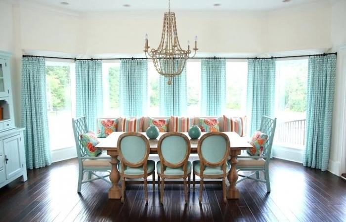 dining room drapery stupendous swing arm curtain rod decorating ideas for