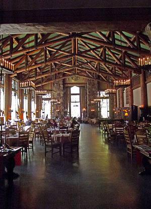 Large Images of Grand Canyon El Tovar Restaurant El Tovar Dinner Menu  El Tovar Lodge Dining