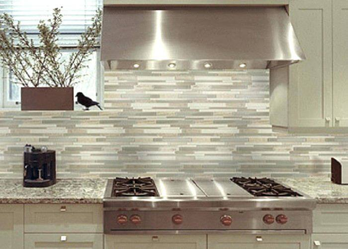 Glass Mosaic Tile Backsplash Pertaining To Installing A In The Bathroom  Youtube Prepare
