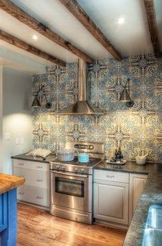 No two tile backsplash projects will lay out the same