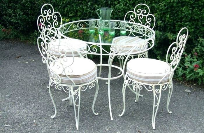 Alluring How To Clean Wrought Iron Rod Outdoor Furniture Luxury Your Room  Coins