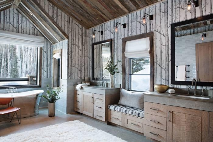 Bathroom Top Simple Remodel Ward Log Homes Then Ideas Master