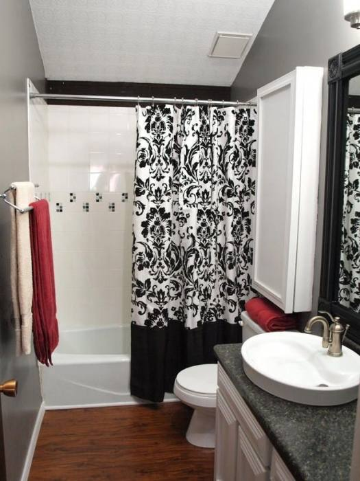bathroom shower curtain ideas