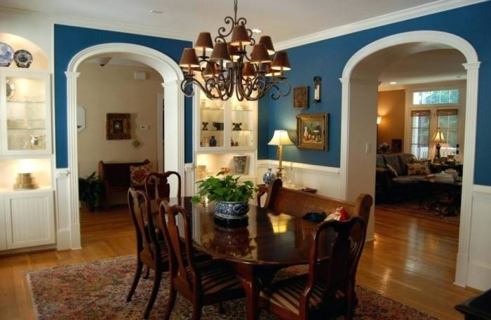 5 Radiant Cool Tricks: Picture Frame Wainscoting Home wainscoting dining room red