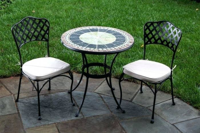 Large Size of Green Wrought Iron Patio Dining Table Cast Outdoor  Furniture Chairs Metal Base Kitchen