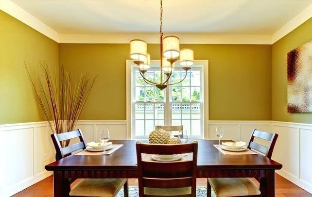 color scheme for dining room