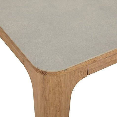Large ceramic top dining table