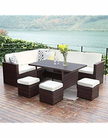 you'll find carefully selected, durable, high quality dining sets,  garden benches, gliders and more