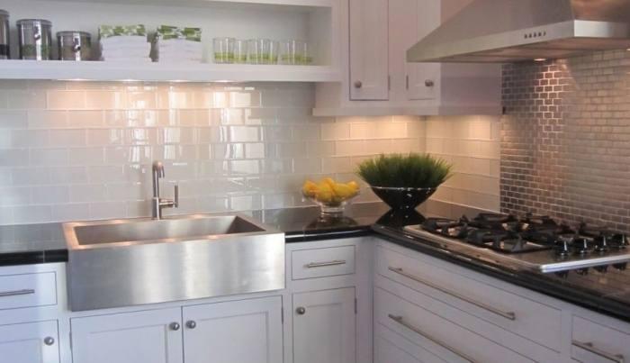 #BrickBacksplash #KitchenBrick CR Home Design K&B (Construction  Resources)