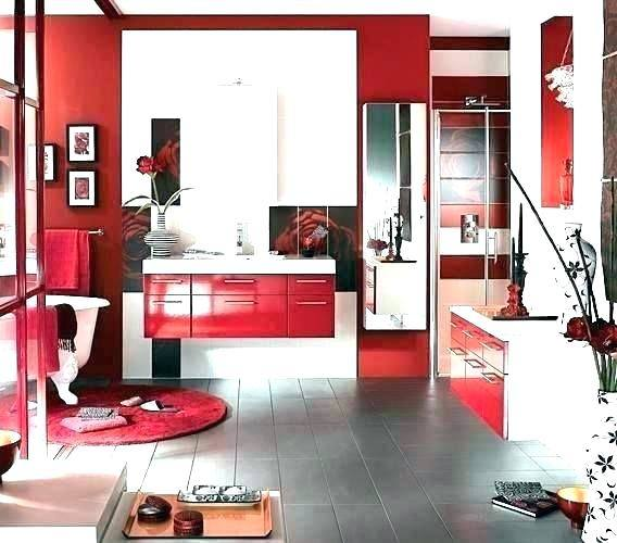 Bathroom Deep Red Accessoriesred Faucetsred Decor Bright Yellow Ideas  Accessories