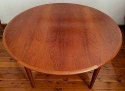 Australian made Parker mid century dining suite www