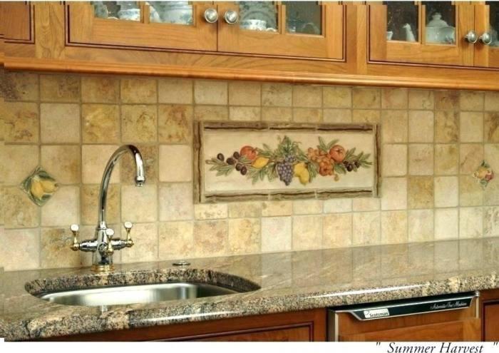 Limestone Tile Backsplash