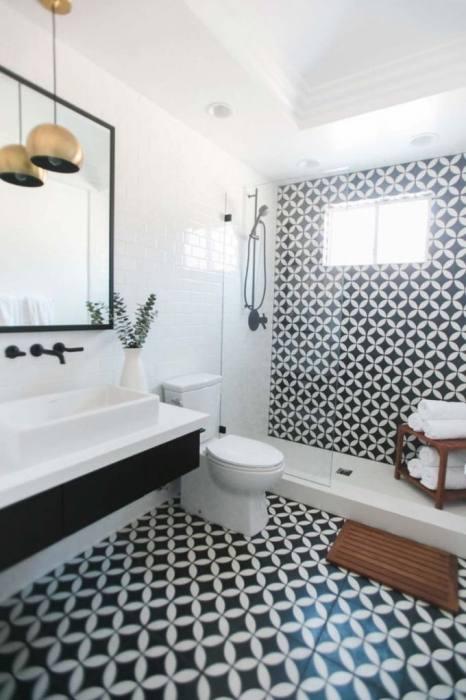 vintage modern bathroom black and white modern bathroom mid century