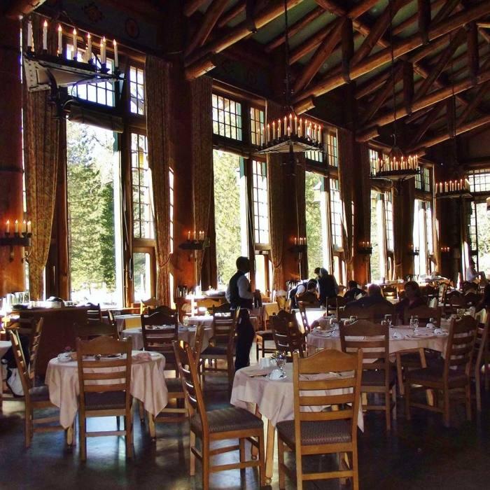 Beautiful Ahwahnee Dining Room Menu