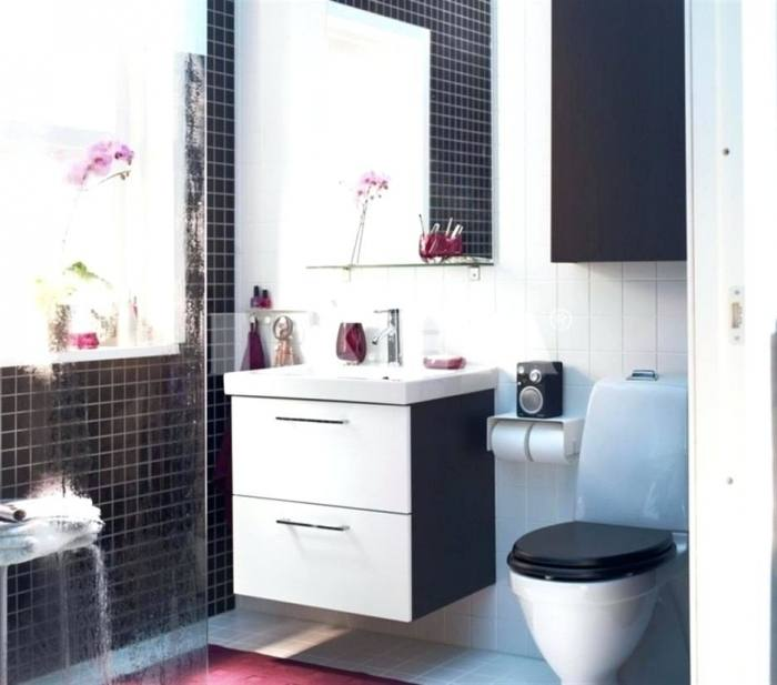 Black White And Turquoise Bathroom Purple