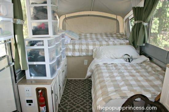 They are the perfect solution when traveling with kids, as they offer beds  and ample space for everyone