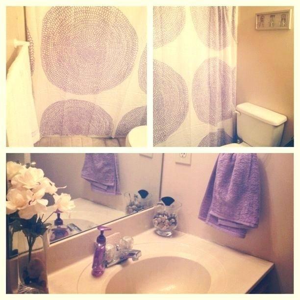 lilac bathroom accessories rose