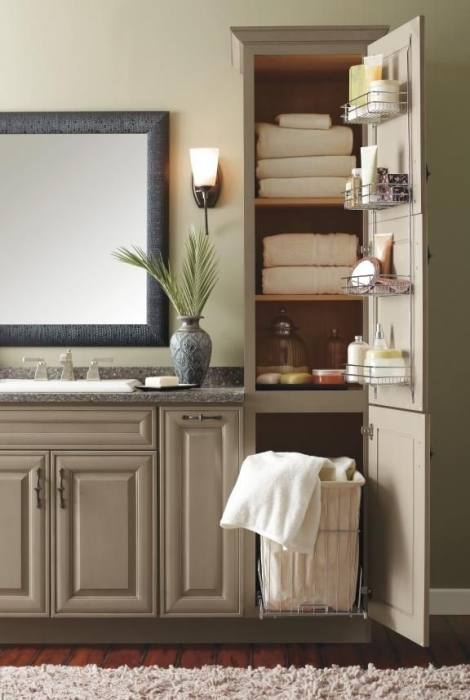 Built In Wall Shelves Bathroom Unique Storage Ideas Cabinet And Units
