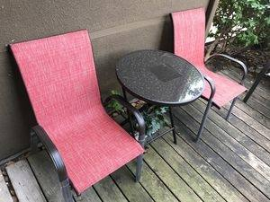 Patio furniture, grill, and all of your  guests will