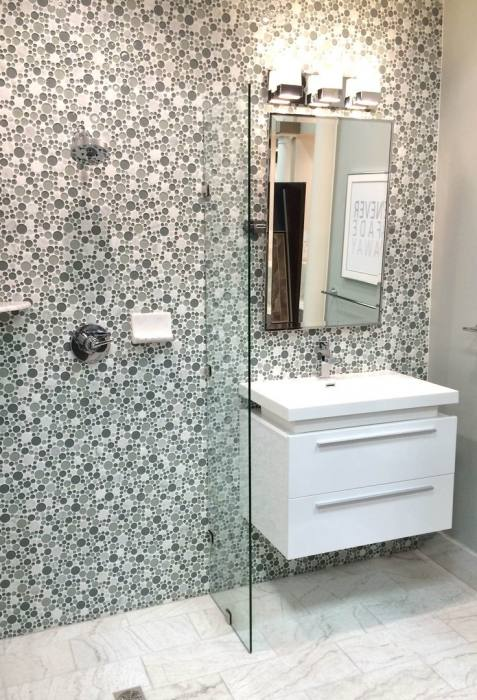 funky bathroom designs statement cheetah wallpaper in funky bathroom design  funky bathroom ideas