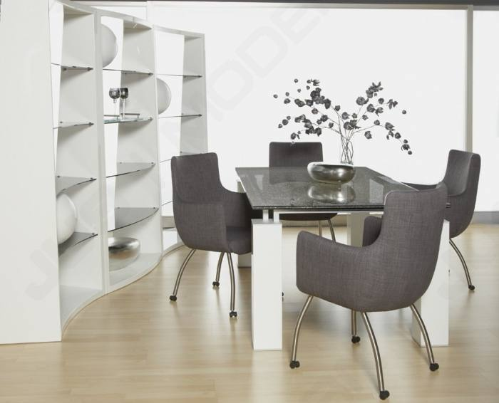 upholstered dining room chairs with casters likeable