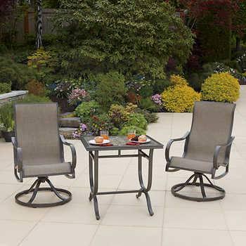 hampton bay woodbury patio furniture bay bay bistro patio set bay bistro patio  set bay 3
