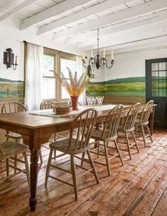 Contemporary dining room design