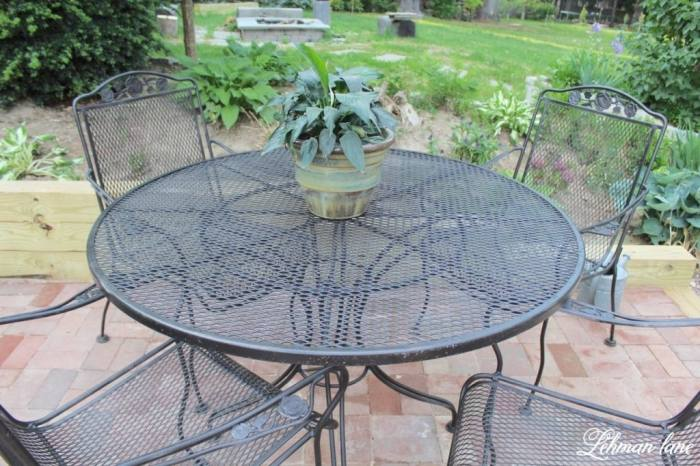repainting wrought iron patio furniture wrought iron patio furniture for  sale breathtaking how to refinish wrought