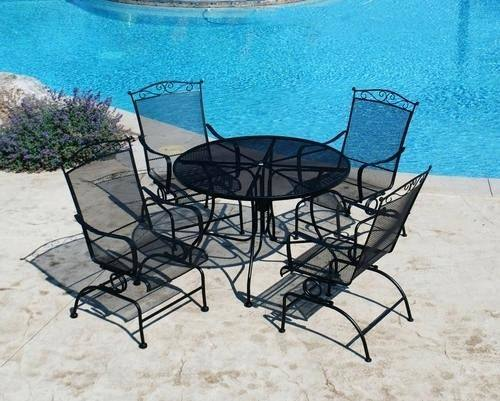 used wrought iron table and chairs unusual used wrought iron patio chairs  photo ideas cast iron