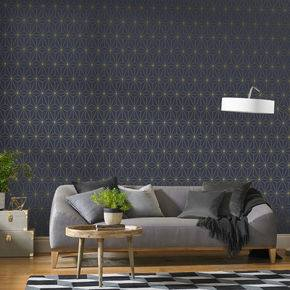 5 W Geometric Peel and Stick Wallpaper Roll
