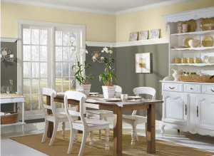 benjamin moore sparrow the kitchen cabinets