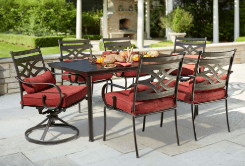 7 Piece Patio Furniture Sets Patio Dining Sets Davenport Collection 7 Piece Outdoor  Patio Dining Set Patio Furniture Sets Home Depot 7 Piece Round Table