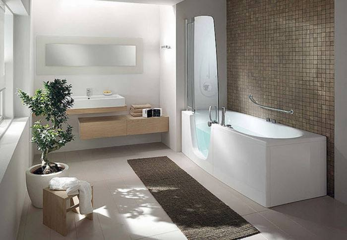 small bathroom setup ideas