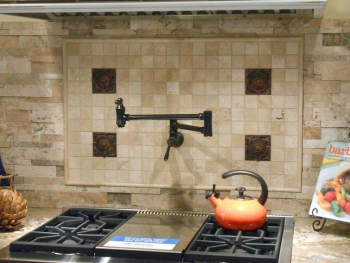 Full Size of Kitchen Backsplash Designs 2018 Pictures With Dark Cabinets Behind  Stove Ceramic Tile Stone