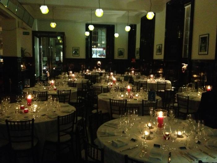 The Ahwahnee Lodge dining room