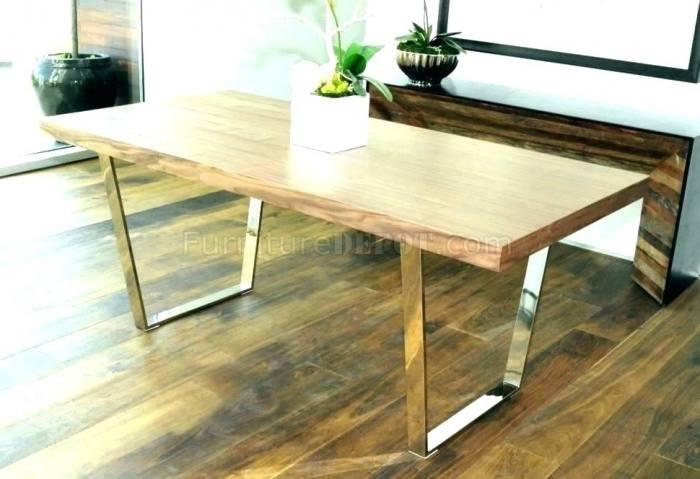 metal  dining table legs