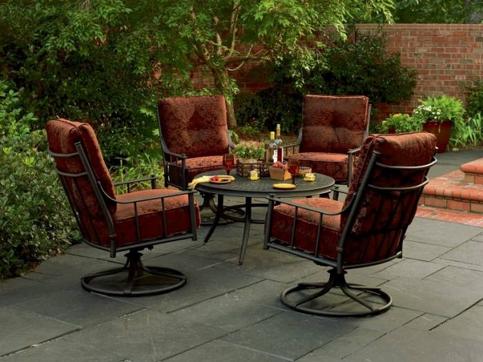 sears outside table and chairs sears wicker patio furniture architecture