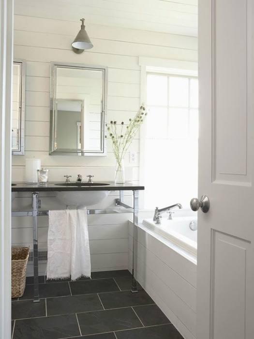 slate bathroom